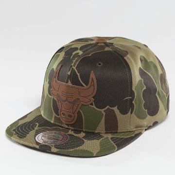Mitchell & Ness snapback cap Lux Camo Chicago Bulls camouflage