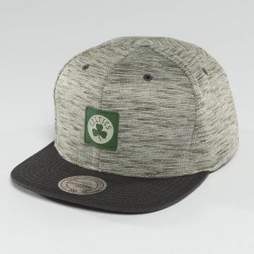 Mitchell & Ness Snapback Cap NBA Brushed Melange Boston Celtics grau