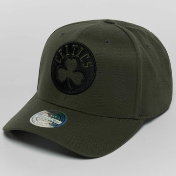 Mitchell & Ness snapback cap The Olive & Black 2 Tone Logo 110 olijfgroen
