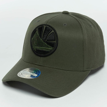 Mitchell & Ness snapback cap The Olive & Black 2 Tone Logo 110 Golden State Warriors olijfgroen