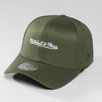 Mitchell & Ness Snapback Cap 110 The Camo & Suede olive