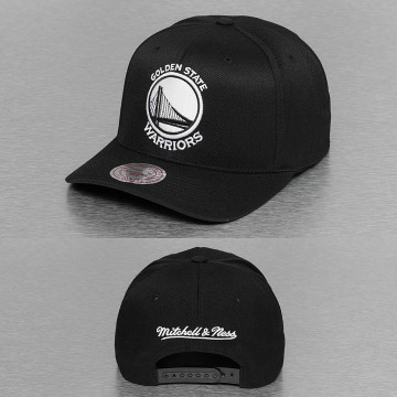 Mitchell & Ness Snapback Cap 110 Golden State Warriors schwarz