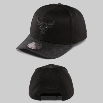 Mitchell & Ness Snapback Cap NBA Heather 2-Tone Chicago Bulls schwarz