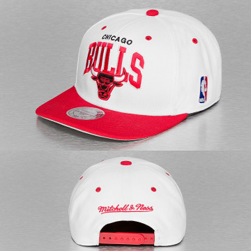 Mitchell & Ness Snapback Cap Chicago Bulls weiß