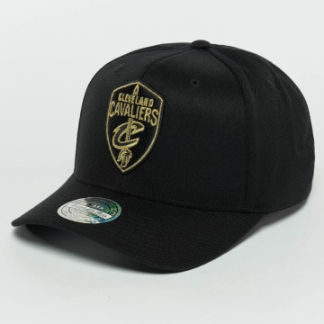 Mitchell & Ness snapback cap he Black And Golden 110 Cleveland Cavaliers zwart