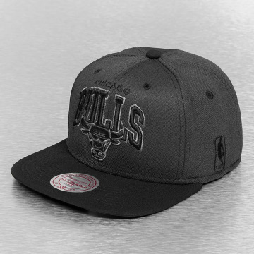Mitchell & Ness Snapback Caps Resist 3D Arch Chicago Bulls čern