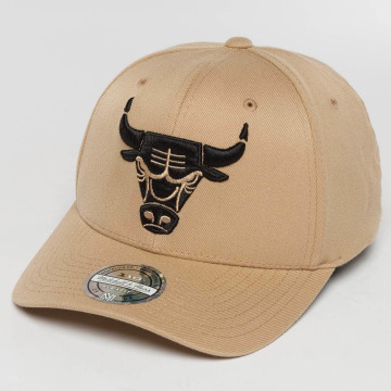 Mitchell & Ness Snapback Caps The sand and Black 2-Tone NBA Chicago Bulls beige