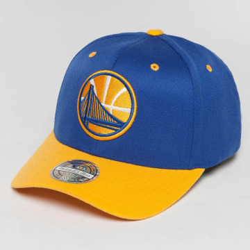 Mitchell & Ness Snapback Caps The Current 2-Tone Golden State Warriors blå