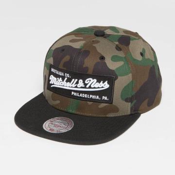Mitchell & Ness Snapback Caps Own Brand Box Logo camouflage