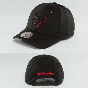 Mitchell & Ness Snapback Caps NBA Hot Stamp Contrast Chicago Bulls czarny