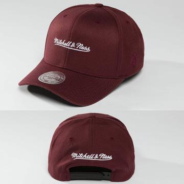 Mitchell & Ness Snapback Caps 110 The Camo & Suede czerwony
