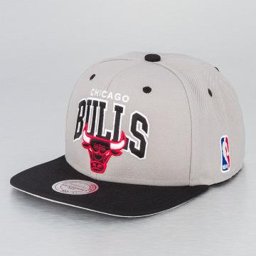 Mitchell & Ness Snapback Caps NBA Chicago Bulls grå