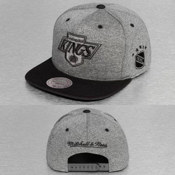 Mitchell & Ness Snapback Caps Broad LA Kings grå