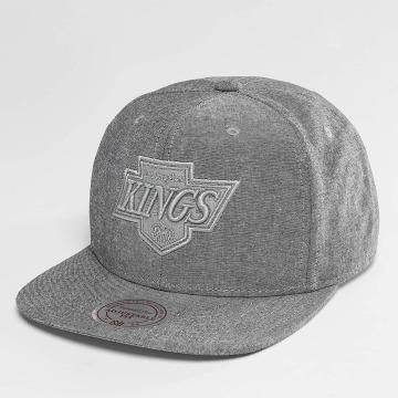 Mitchell & Ness Snapback Caps NHL Italian Washed LA Kings grå
