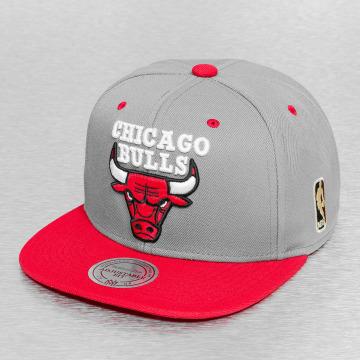 Mitchell & Ness Snapback Caps Chicago Bulls grå