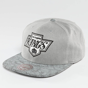Mitchell & Ness Snapback Caps NHL Cracked LA Kings harmaa