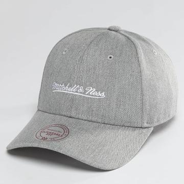 Mitchell & Ness Snapback Caps Team Logo Low Pro harmaa