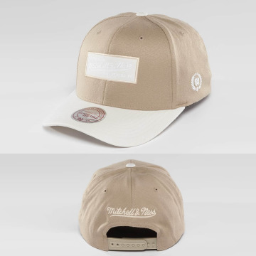 Mitchell & Ness Snapback Caps Heather 2-Tone khakiruskea