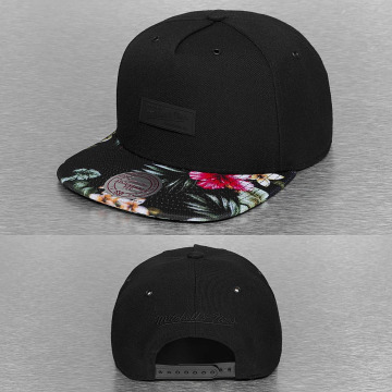 Mitchell & Ness Snapback Caps Floral Infill musta