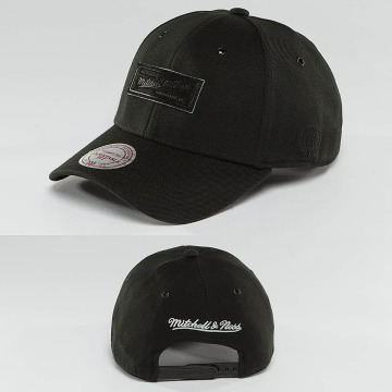 Mitchell & Ness Snapback Caps Hot Stamp Contrast musta