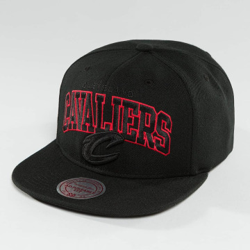 Mitchell & Ness Snapback Caps Red Pop Cleveland Cavaliers musta