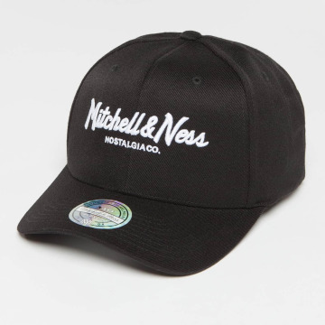 Mitchell & Ness Snapback Caps Own Brand Pinscript High Crown 110 musta