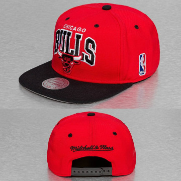 Mitchell & Ness Snapback Caps NBA Chicago Bulls punainen