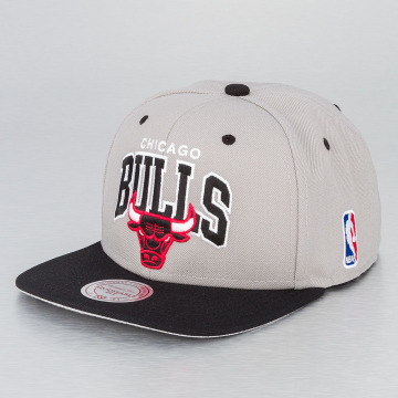 Mitchell & Ness Snapbackkeps NBA Chicago Bulls grå