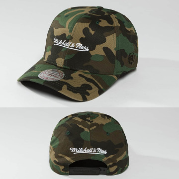 Mitchell & Ness Snapbackkeps 110 The Camo & Suede kamouflage