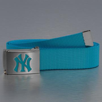 MLB Ремень MLB NY Yankees Premium Woven бирюзовый