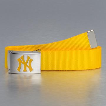 MLB Ремень MLB NY Yankees Premium Woven Single желтый
