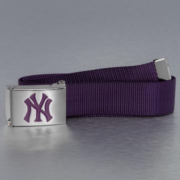MLB Ремень MLB NY Yankees Premium Woven Single пурпурный