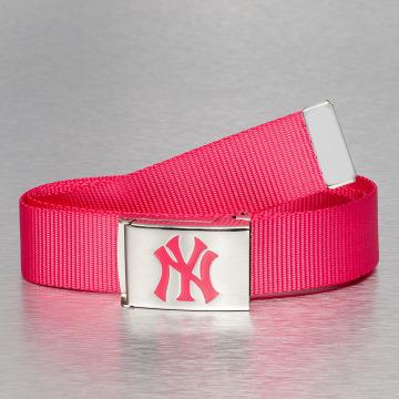 MLB Cintura MLB NY Yankees Premium Woven rosa