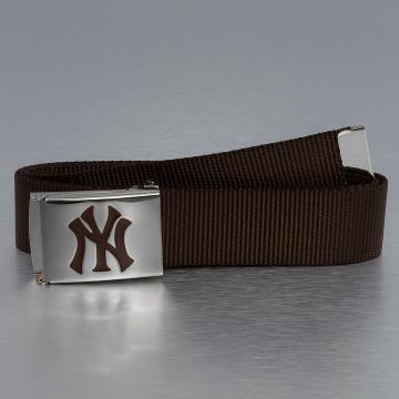 MLB Gürtel MLB NY Yankees Premium Woven braun