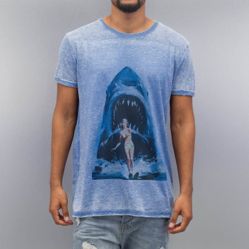 Monkey Business T-Shirt Shark Ski76 blue