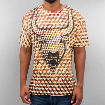 Monkey Business t-shirt Bull Cube goud