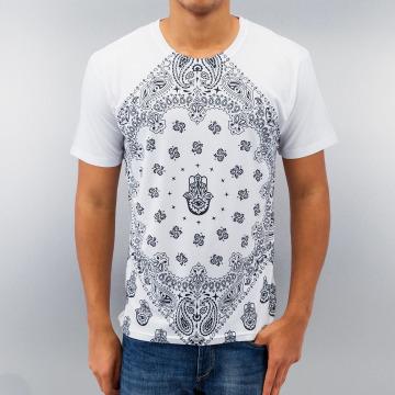 Monkey Business T-shirt Business Bandana White vit