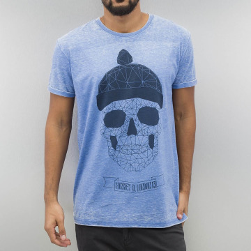 Monkey Business T-Shirty Geometric Skull niebieski