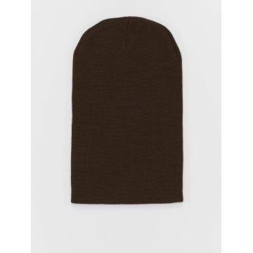 MSTRDS шляпа Basic Flap Long коричневый