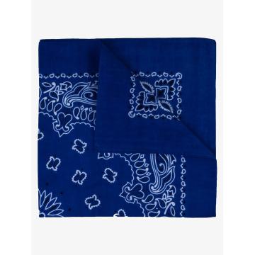 MSTRDS Bandana Printed azul