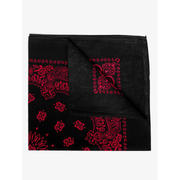 MSTRDS Bandana/Durag Red Lines nero