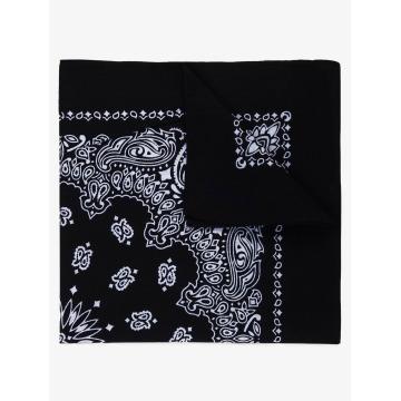 MSTRDS Bandana Printed negro