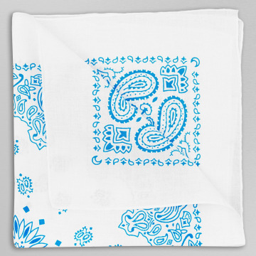 MSTRDS Bandana Printed turquoise