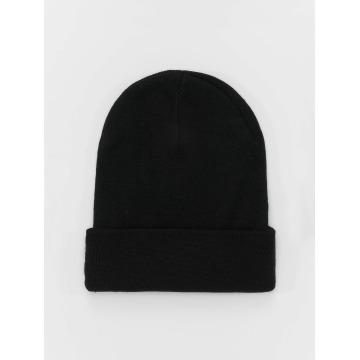 MSTRDS Beanie Basic Flap Long black