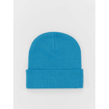 MSTRDS Beanie Basic Flap turquois
