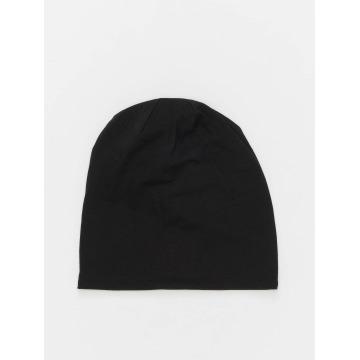 MSTRDS Beanie Jersey Reversible zwart