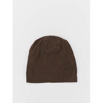 MSTRDS Bonnet Stonewashed Jersey brun