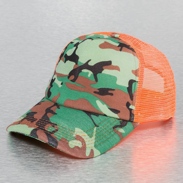 MSTRDS Casquette Trucker mesh Printed Jersey camouflage