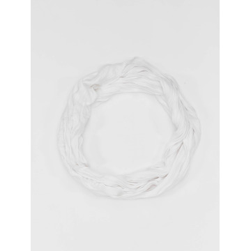 MSTRDS Echarpe Wrinkle Loop blanc