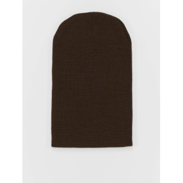 MSTRDS Hat-1 Basic Flap Long brown